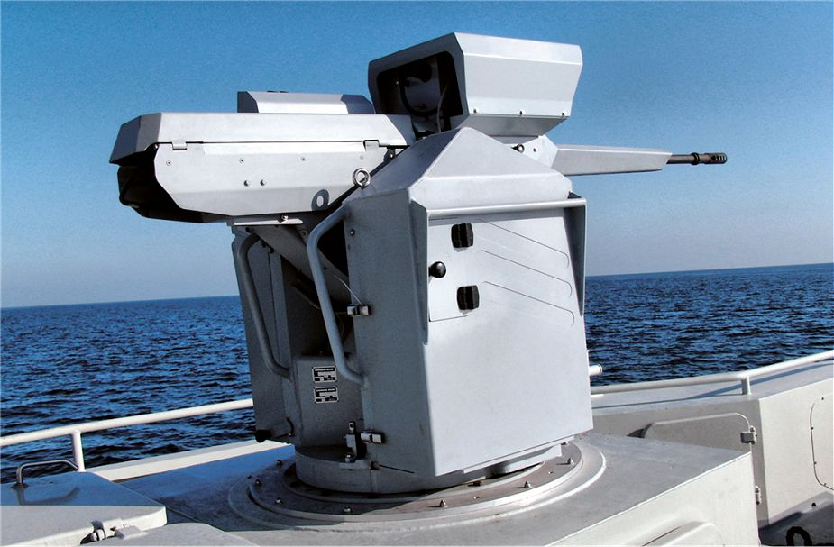 NARWHAL20 Nexter Systems Naval RWS Remote Weapon Station France French defense industry 925 001