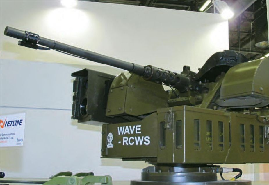 WAVE IMI Naval RWS Remote Weapon Station Israel Israeli defense industry 925 001