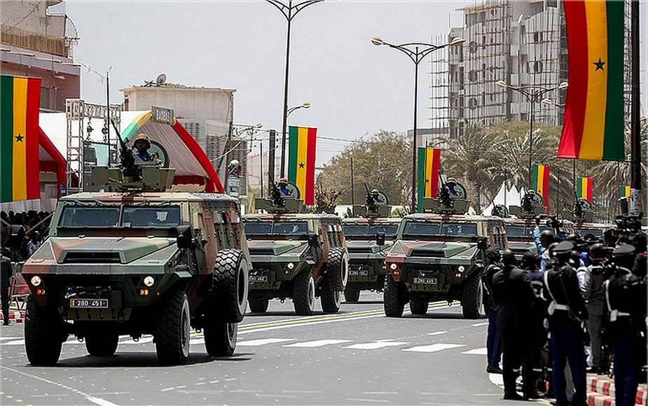 ARQUUS Bastion 4x4 APC armored personnel carrier in service with Senegal Army 925 001