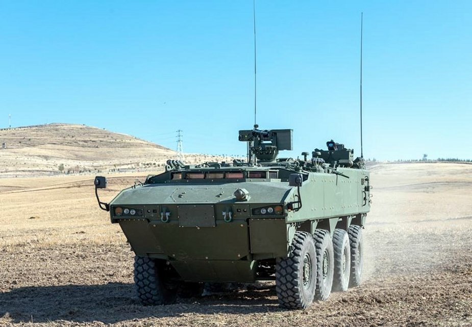 AV 8 Armored Engineer NBCR vehicle prepares to enter Malaysian Army inventory 1