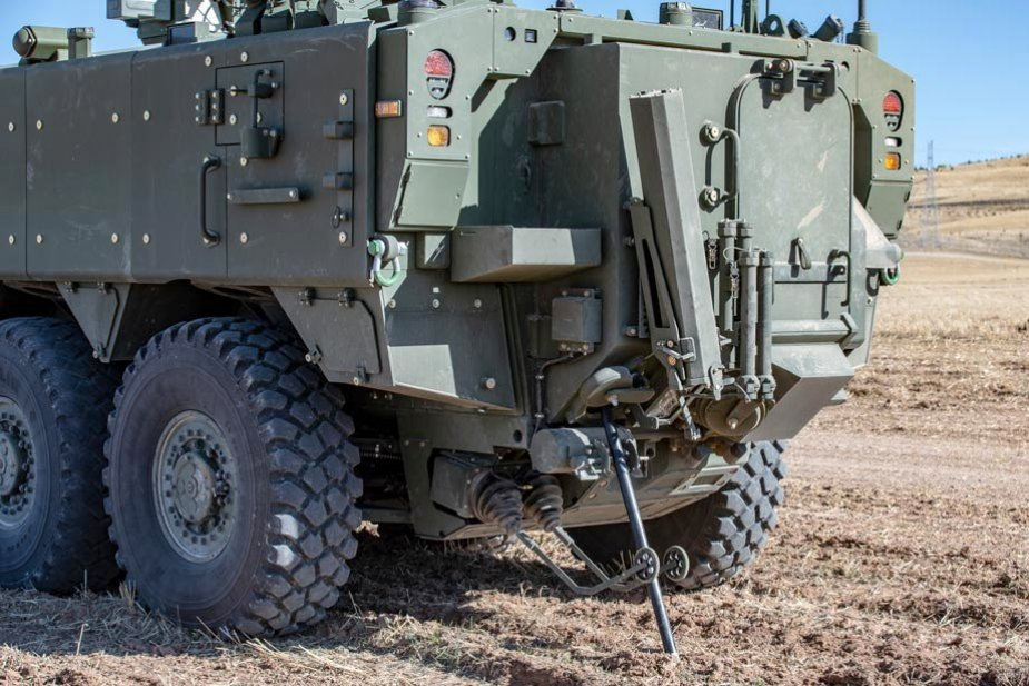 AV 8 Armored Engineer NBCR vehicle prepares to enter Malaysian Army inventory 2