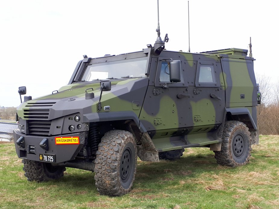 Danish army receives first Piranha 5 and Eagle 5 wheeled armored vehicles Eagle 5