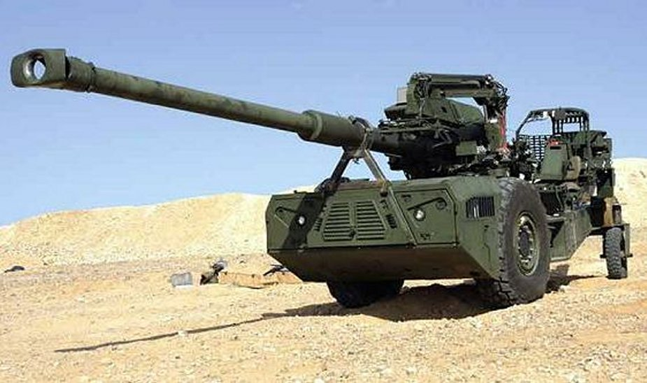 Elbit Barhat Forge to supply Athos 2052 155mm howitzers to Indian Army