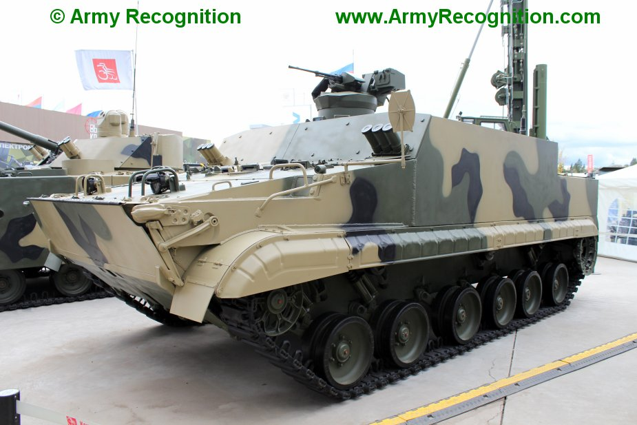 Indonesia buys BT 3F and BMP 3F armored vehicles from Russia