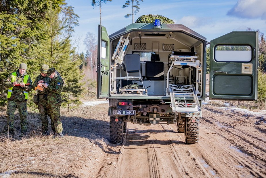 Milrem LCM will repair lineup aggregates of Estonian army