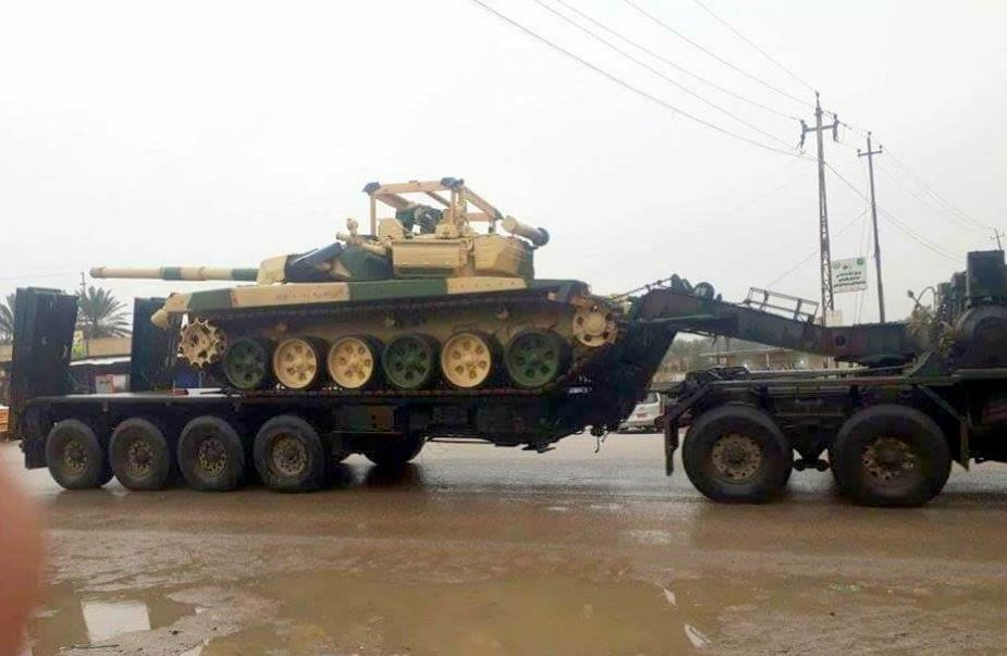 Russia delivers more T 90 main battle tanks to Iraqi Army