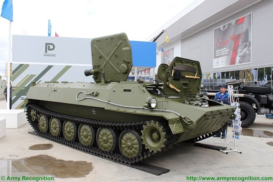 Russian Naval Infantry to receive upgraded armored tractors for Arctic operations