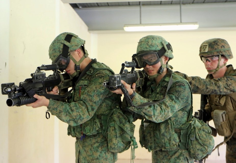 Singapore Armed Forces and USMC conduct bilateral exercise Valiant Mark