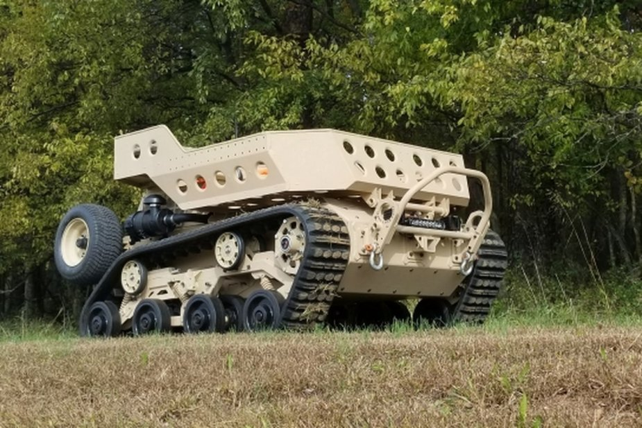Textron offers Grizzly UGV for U.S. Squad Multipurpose Equipment Transport program