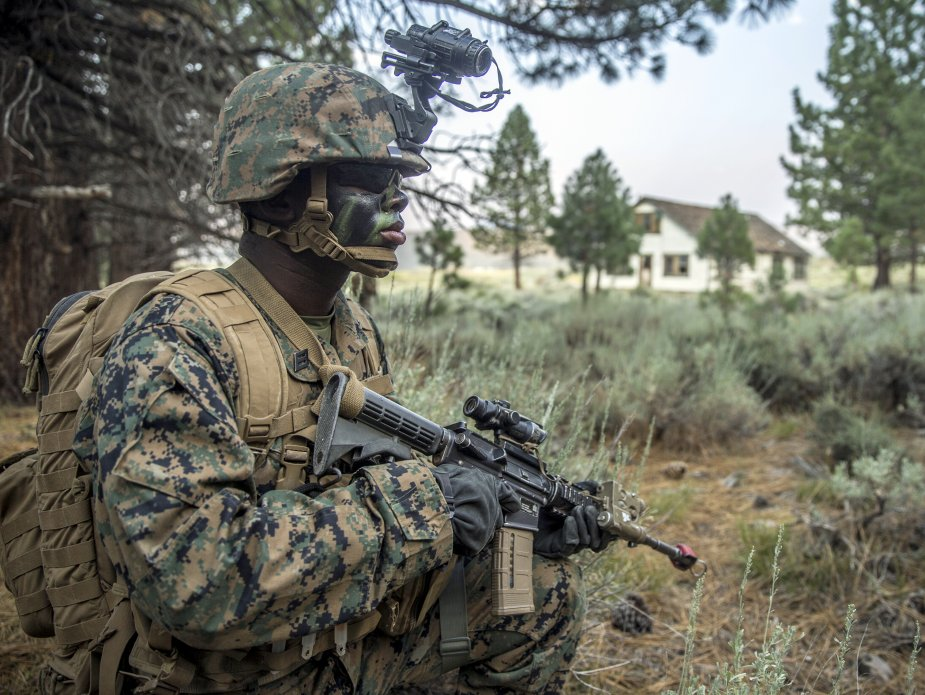USMC announce winners of helmet retention system prize challenge