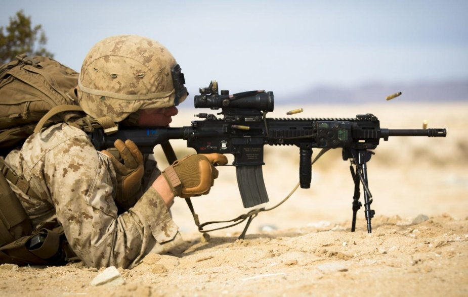 USMC to receive fewer Heckler and Koch M27 infantry automatic rifle
