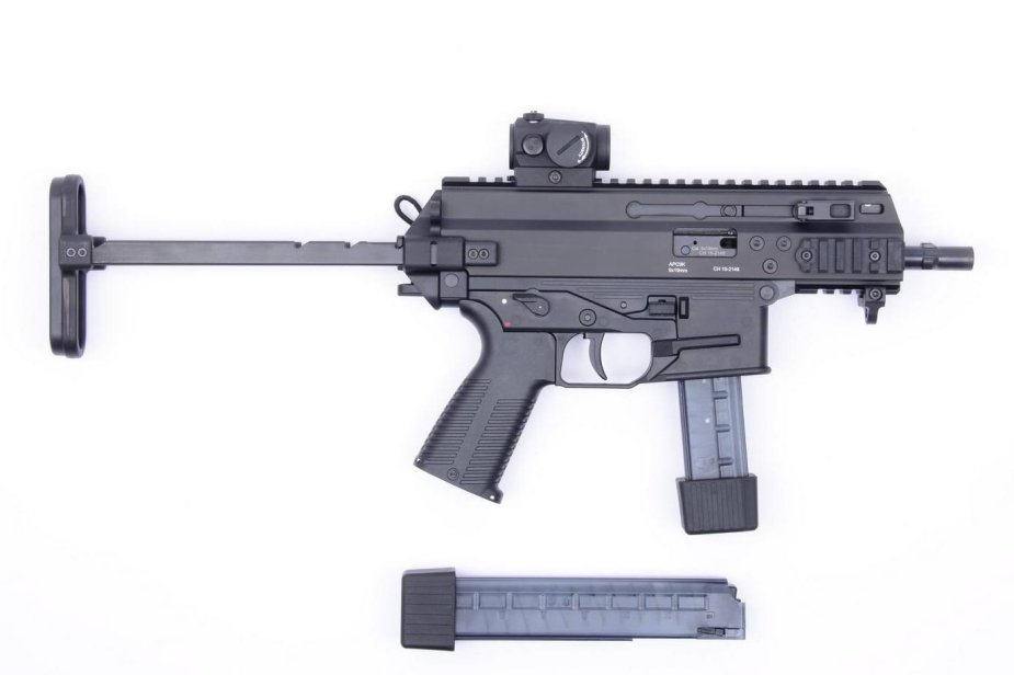 US Army awards Sub Compact Weapon contract to Brugger and Thomet APC9K