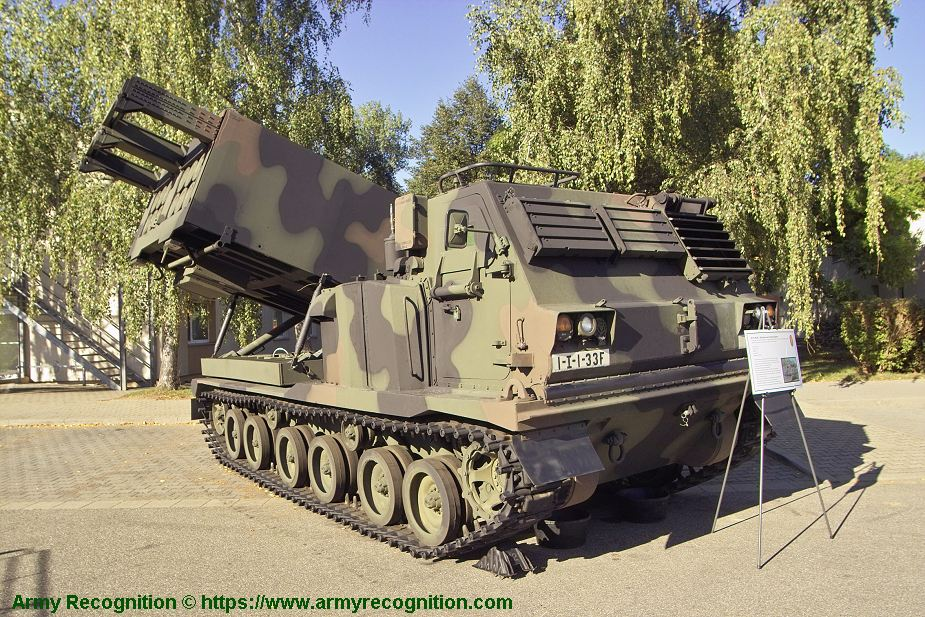 US Army to upgrade M270 MLRS rocket launchers to standard M270A2 925 001