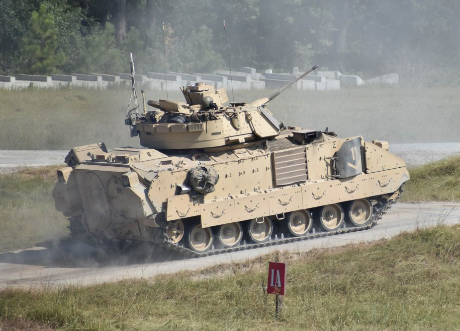 Croatia to receive Bradley M2A2 Infantry Fighting Vehicles from U.S. government