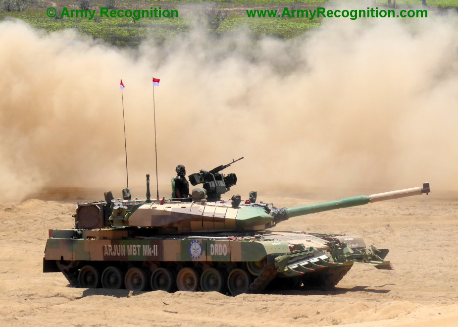 Indian Arjun Mk.1A MBT ready to go into production