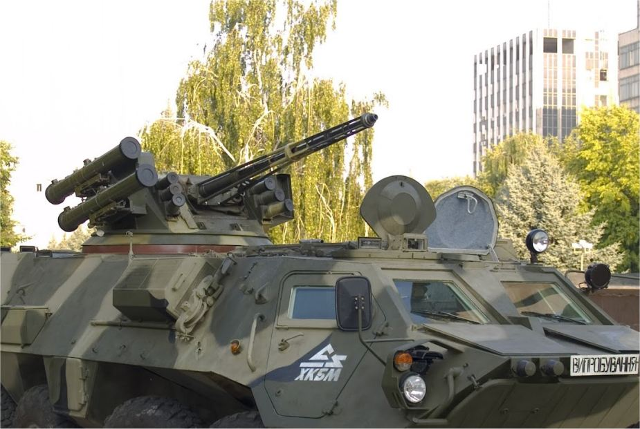 BM 3 Shturm Ukrinmash RWS Remote Weapon Station Ukraine Ukrainian defense industry 925 001
