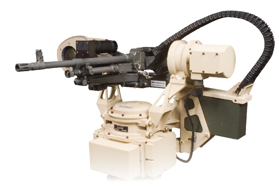 R200 EOS RWS Remote Weapon Station Australia Australian defense industry 925 001