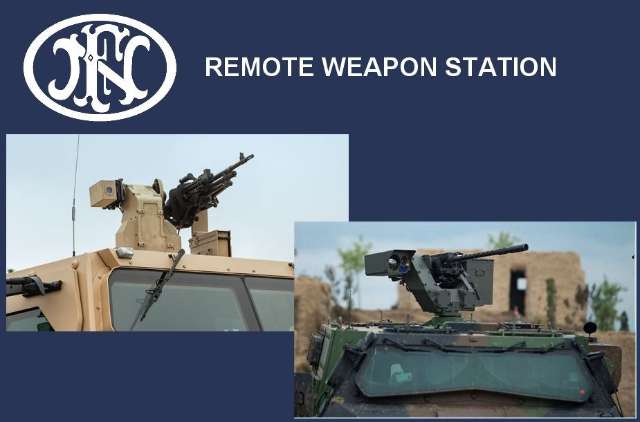 deFNder Light Medium RWS Remote Weapon Station Belgium Belgian defense industry 925 001
