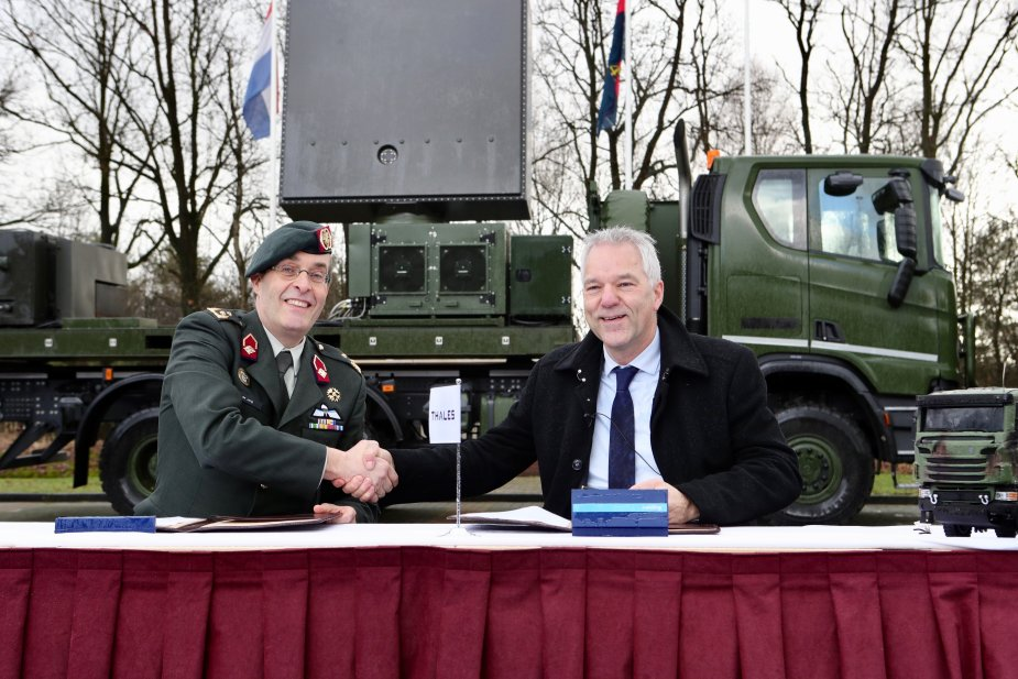 Thales develops GM200 MM Compact MMR radar for Netherlands army