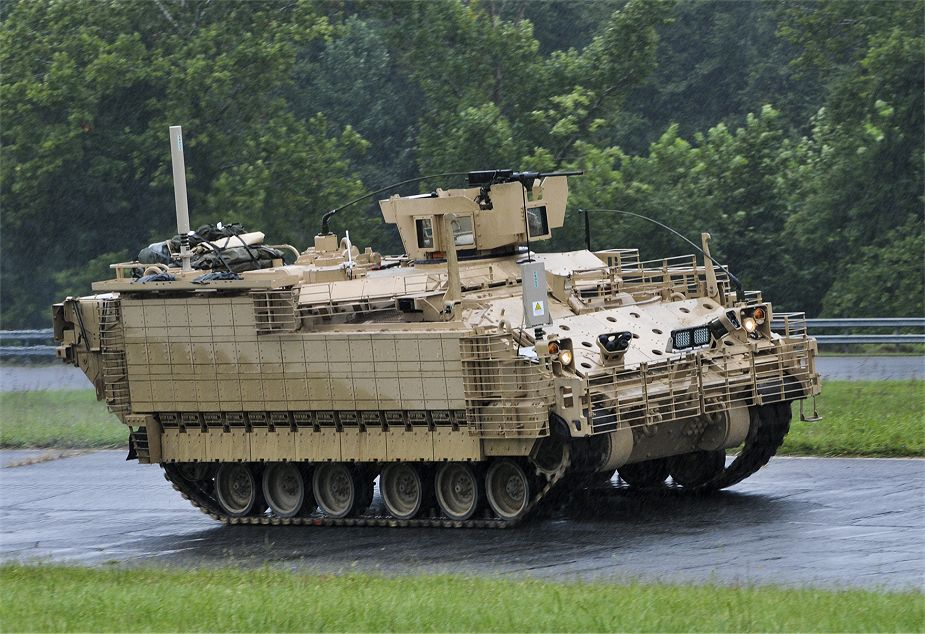 US Army contract for BAE Systems for AMPV low rate initial production 925 001