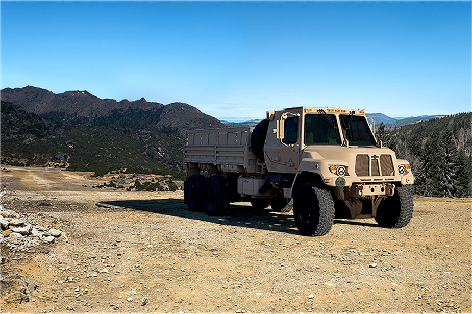 US Army orders 354 Medium Tactical Vehicles FMTV-A2