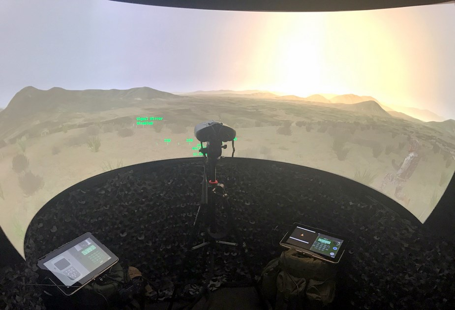 Elbit Systems UK delivered JTAC and FST training simulator to British Army