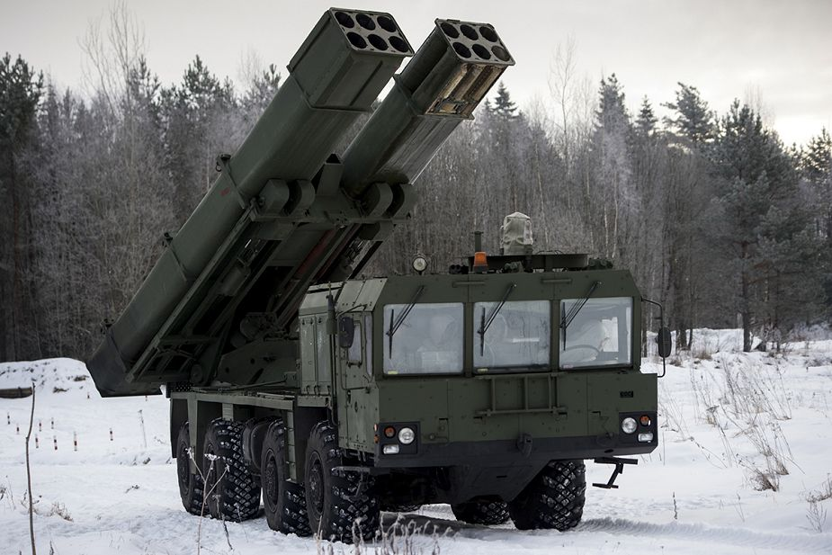 First Tornado S MLRS supplied to Russian Southern district 925 002