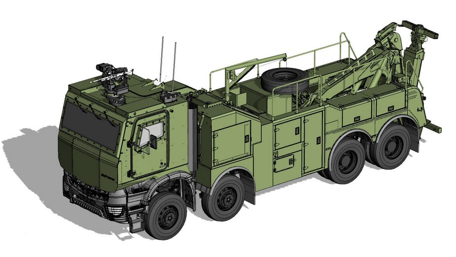 137c48b58f French company Soframe to supply 28 armored recovery trucks to Belgian army