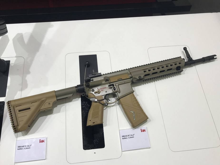 German special operations units to receive HK416A designated G95K