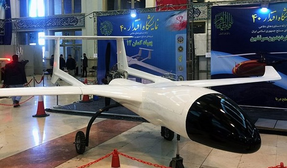 Iran displays new drones and weapons at Eqtedar 40 defense exhibition