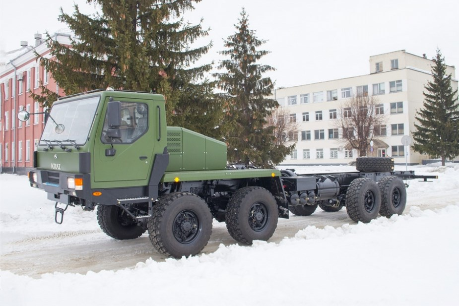 KrAZ donates 8х8 truck to Ukrainian army