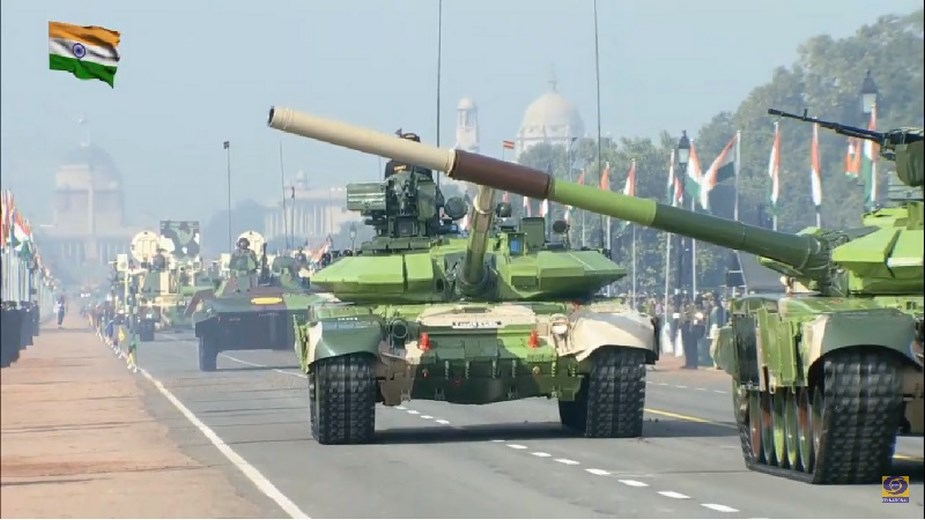 M777A2 howitzers K 9 Vajra SPH displayed for first time at Indian Republic Day Parade 2