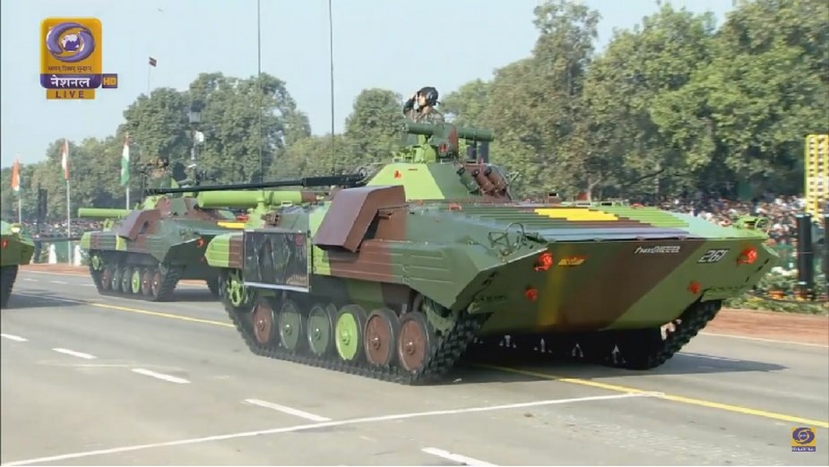 M777A2 howitzers K 9 Vajra SPH displayed for first time at Indian Republic Day Parade 3
