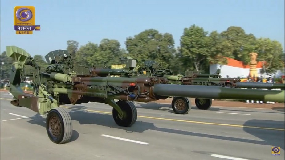 M777A2 howitzers K 9 Vajra SPH displayed for first time at Indian Republic Day Parade 4