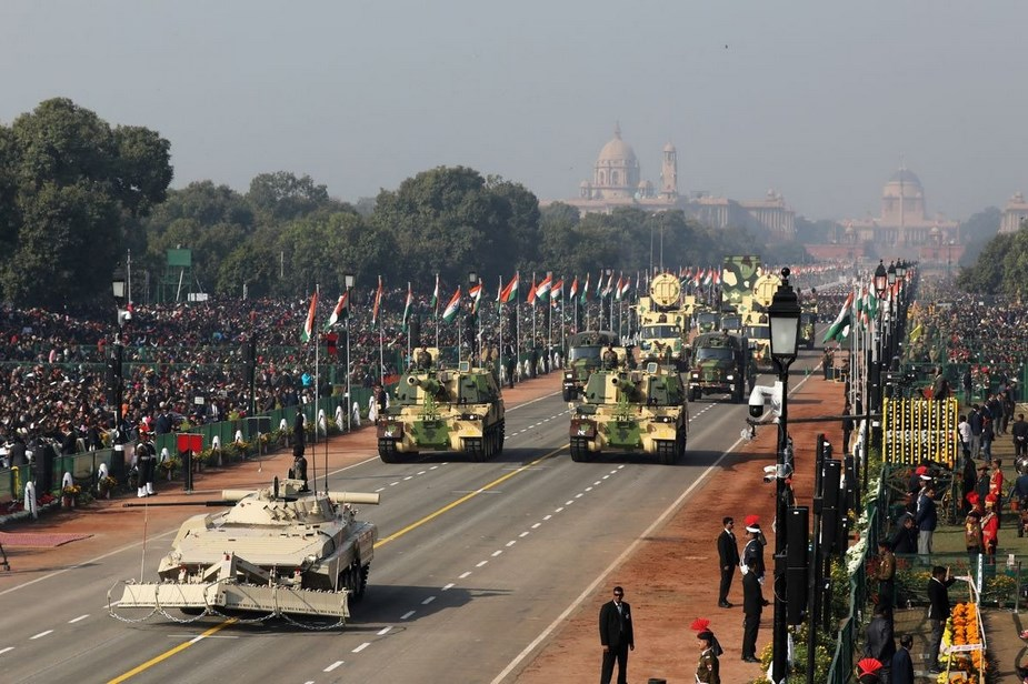 M777A2 howitzers K 9 Vajra SPH displayed for first time at Indian Republic Day Parade 5