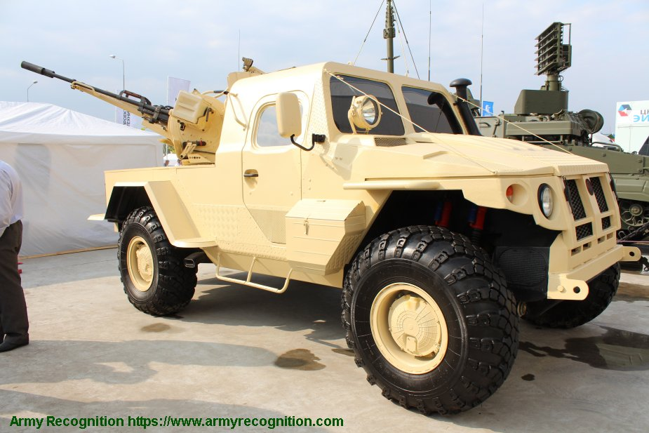 PEMZ from Russia first export contract for Samum 23mm anti aircraft vehicle 925 001