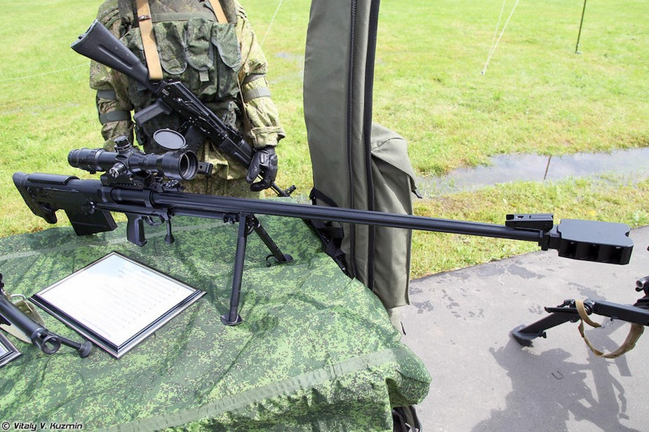 Russian Southern district snipers receive Kord M rifles