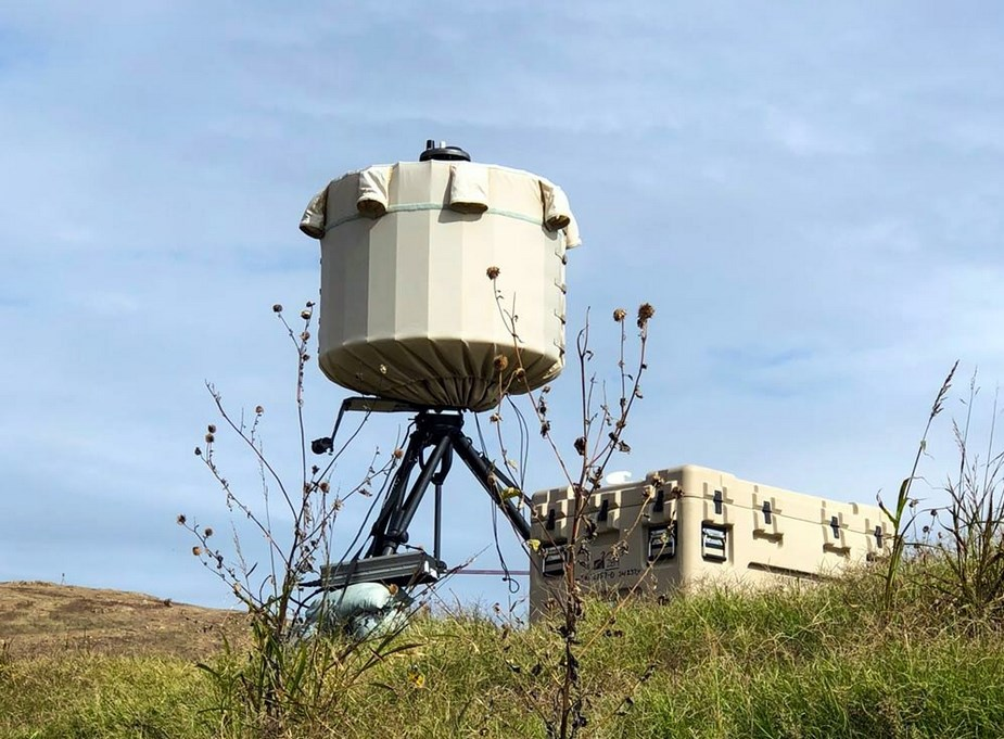 SRC AN TPQ 49 radar system provides air surveillance for G7 Summit in Charlevoix Quebec