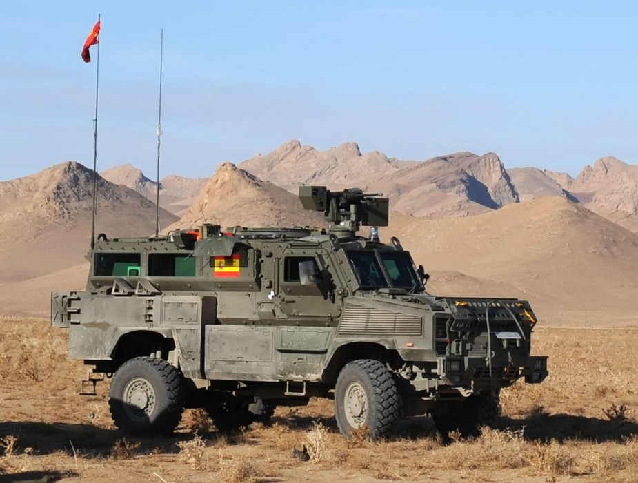 Spain SDLE awarded contract for repair and maintenance of RG 31 Armoured Vehicle