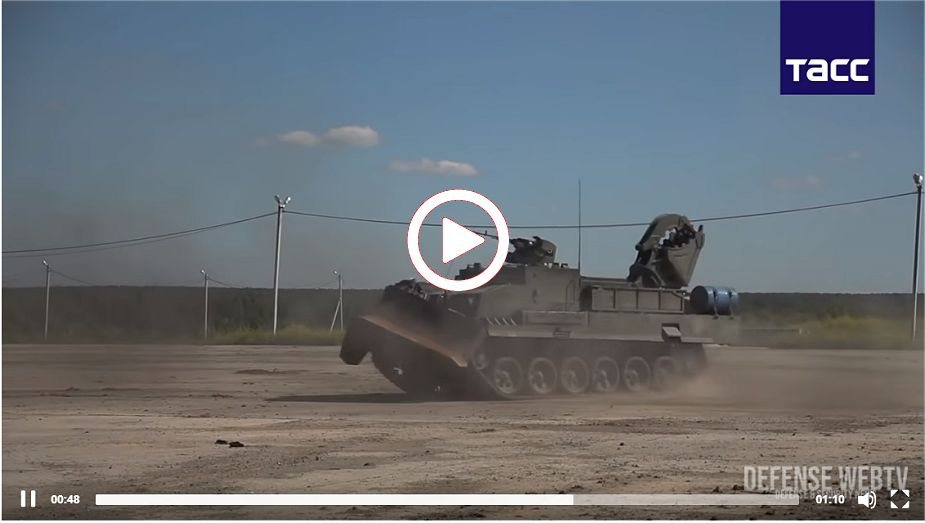 State trials of new Russian UBIM engineer armored vehicle will start this year video image 925 001