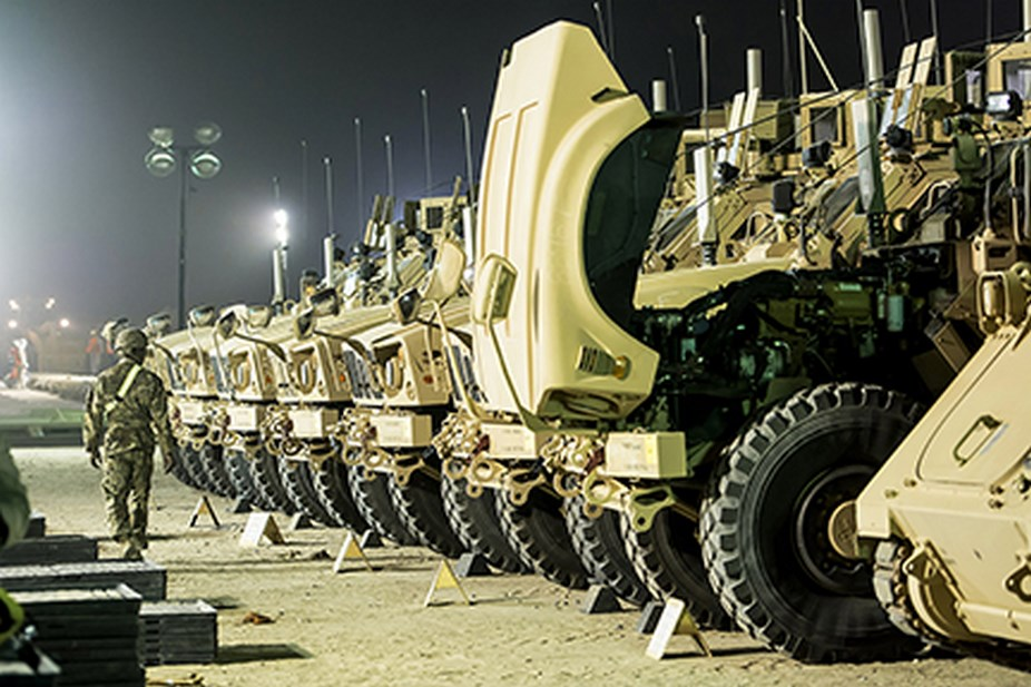 U.S. armed forces making equipment readiness a top priority