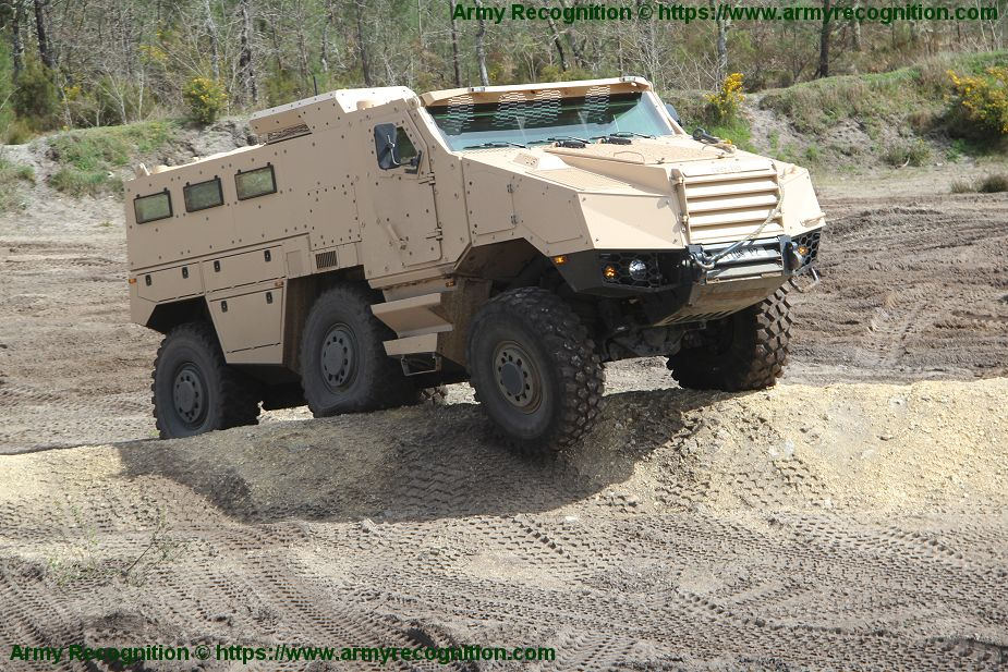 Czech Republic signed contract for 62 Nexter Titus multirole armored vehicles
