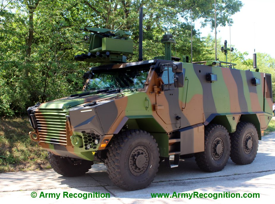 France to buy 54 Thales 2R2M mobile mortars on Griffon chassis
