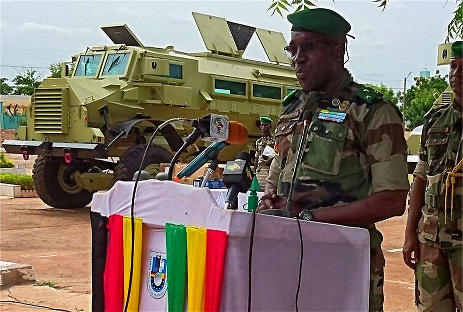 Germany has donated 29 Casspir armored vehicles to Army of Mali 925 001