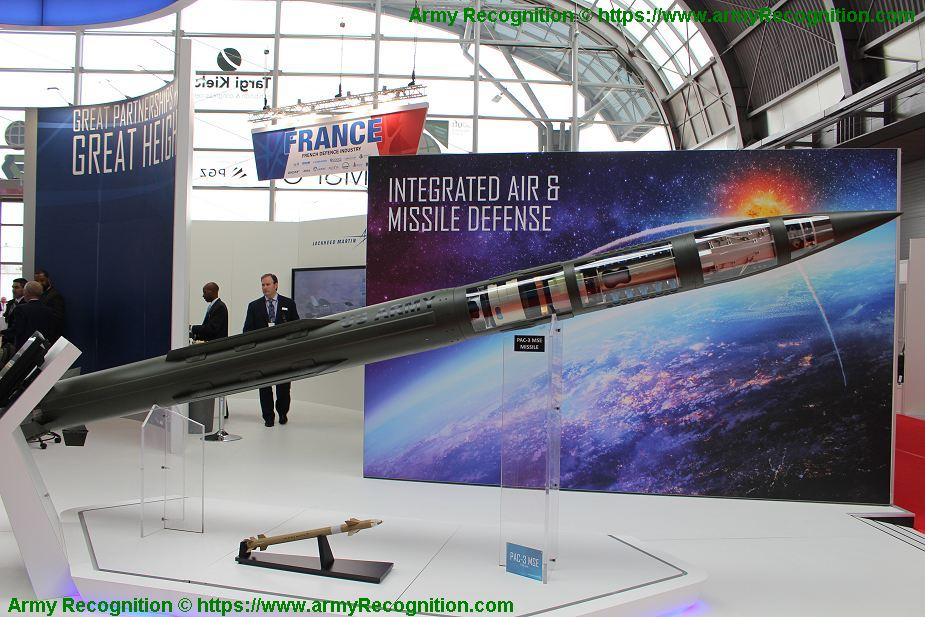 Germany to order Patriot PAC 3 MSE Missile Segment Enhanced from US 925 001