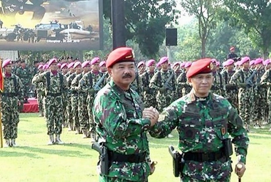 Indonesian army creates new elite unit with counter terrorist role