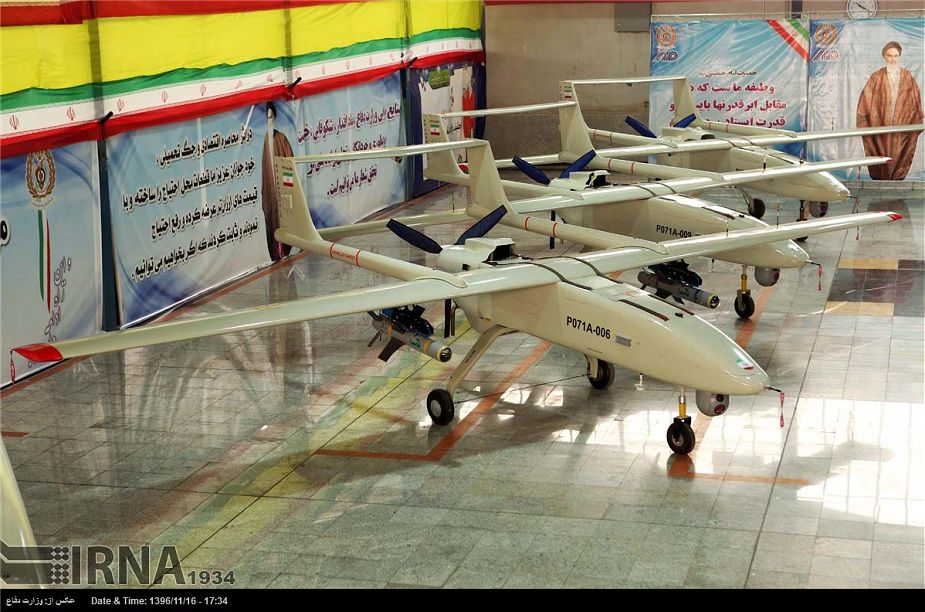 Iranian army has received new home made Mojaher 6 armed drones 925 001