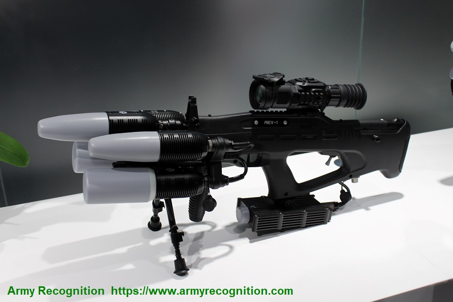 Kalashnikov creates new anti drone gun REX1.2