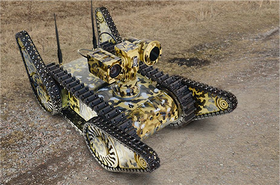 Russian engineer troops to receive Kapitan unmanned tracked robot UGV 925 001