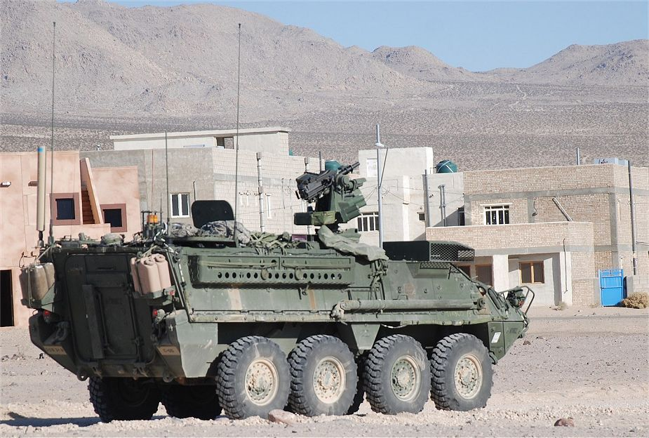 Thailand could purchase 60 Stryker ICV 8x8 armored vehicles from US 925 001
